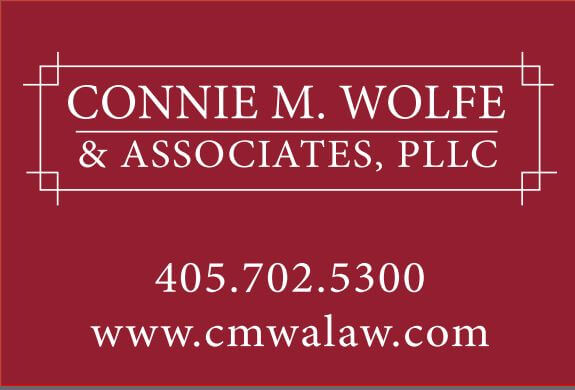logo for connie wolfe